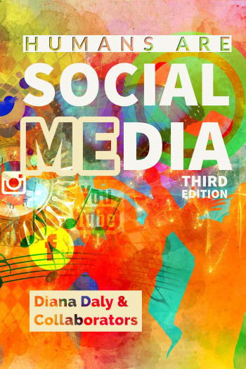 Cover image for Humans are Social Media, OER Edition 2021